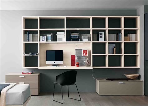 Home Office Wall Desk Office Extraordinary Home Office Wall Units Home Office Wall Unit Diy Built In Office