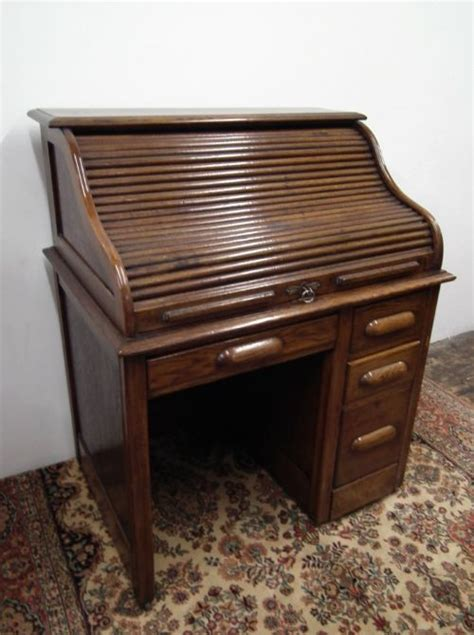 Small Roll Top Desk Oak by Small Oak Roll Top Desk 177666 Sellingantiques Co Uk