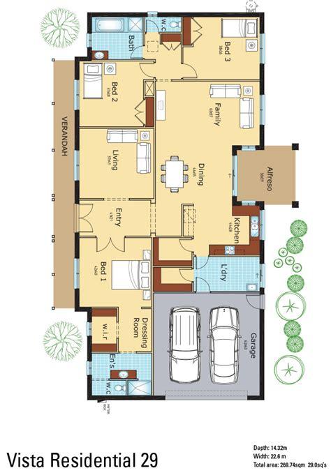 colored floor plans vista constructions new homes renovations builder