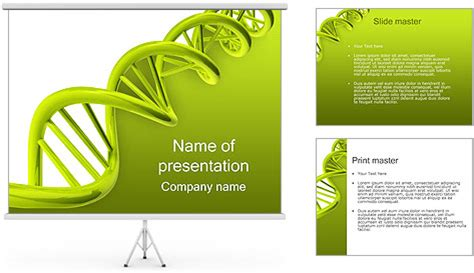 ppt templates free download genetics genetic powerpoint template backgrounds id 0000000539