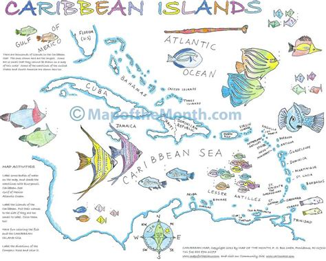 map caribbean islands caribbean islands maps for the classroom