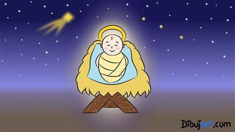 imagenes para niños nacimiento de jesus c 243 mo dibujar al ni 241 o jes 250 s paso a paso dibujart com