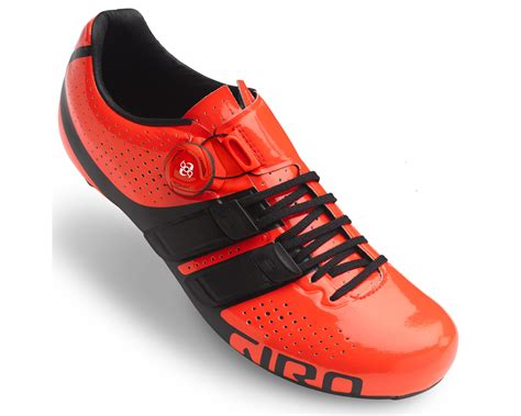 road bike and shoes giro factor techlace road shoes merlin cycles