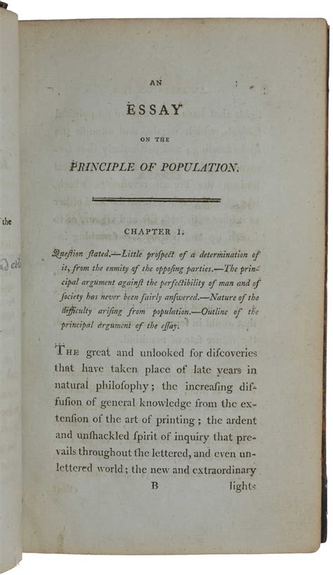 Robert Essay by Robert Malthus Essay On Population