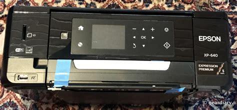 Printer Epson Xp 640 the epson expression premium xp 640 small in one printer