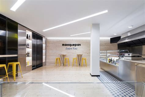 Japanese Home Decor Ideas maisquepan bakery uses function and flash commercial