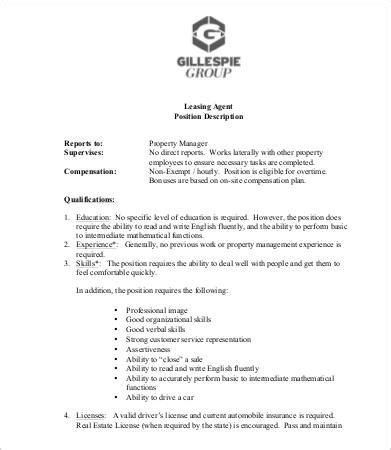 Leasing Duties by Property Manager Description Assistant Property Manager Cover Letter Assistant Property