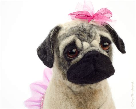 needle felted pug 1000 images about pugs on pug puppys and
