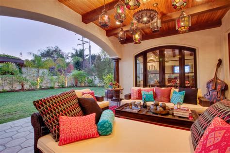 Hermosa Beach Mediterranean Moroccan Interior Design Patio Interior Design
