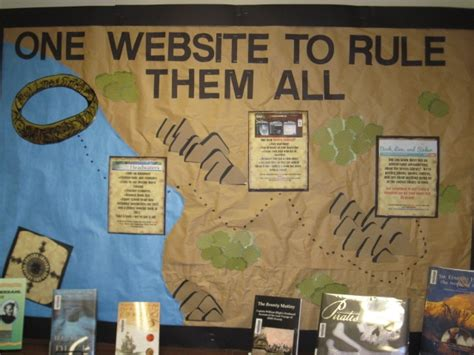 The Lord S Prayer Board Book lord of the rings themed bulletin board for roll out of new library website and catalog