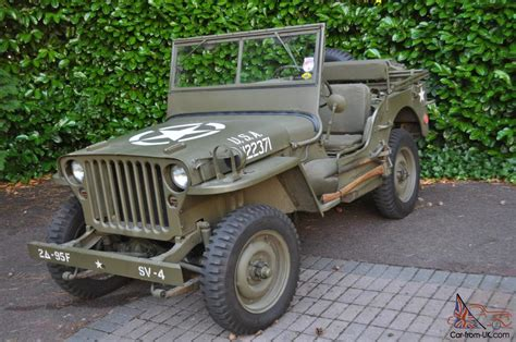 willys jeep us ww2 willys jeep willys mb original 1945