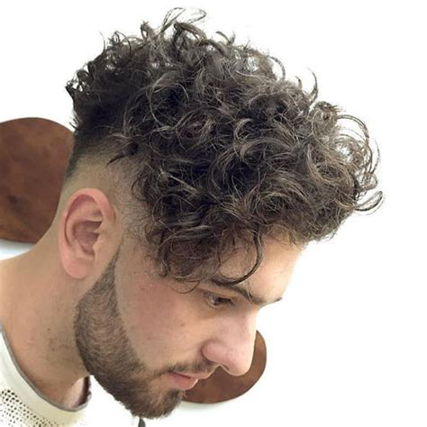 fades for curly hair curly hair undercut men s hairstyles haircuts 2018