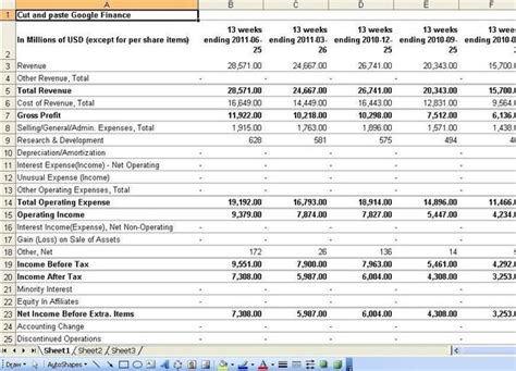 what websites allow you to export financial statements