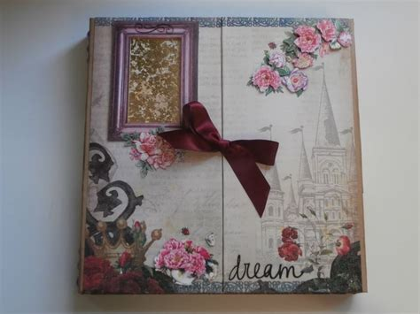 tutorial album scrapbooking español mini album with floating pages binding tutorial available
