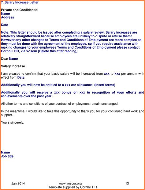 salary increase letter best of 30 fresh sample a job letter from