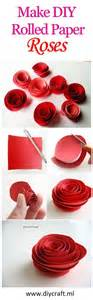 How To Make Rolled Paper Flowers - best 25 rolled paper flowers ideas on paper