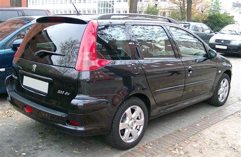peugeot 206 sw file peugeot 206 sw rear 20071102 jpg