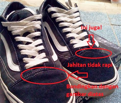 Sepatu Vans Oldschool Black perbedaan vans oldskool original dan vans oldskool kw ajaib