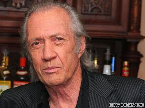 David carradine became famous in the 1970s after starring in the