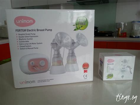 Switch Kit Unimom unimom forte breast review singapore