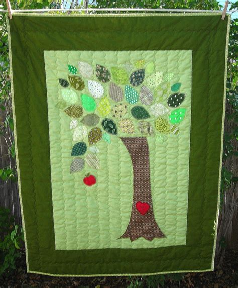 the giving tree baby quilt 35 00 via etsy baby quilt