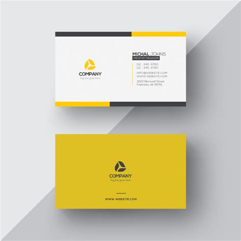 designer visiting cards templates free business visiting card design template