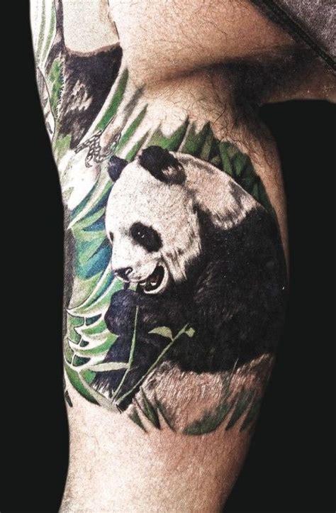 tattoo oso panda significado 82 mejores im 225 genes de panda tattoos en pinterest