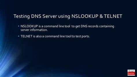 ms exchange server error   dns query failed