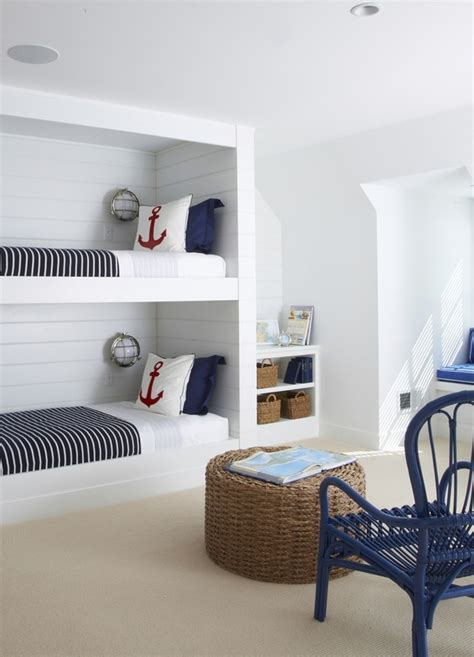 Anchor Room ideas for white and blue rooms design dazzle