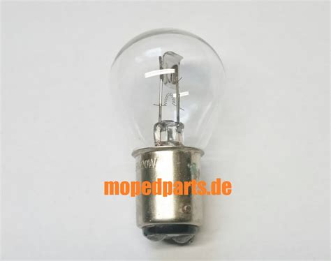 Glühbirnen Sockel by Gl 252 Hbirne Sockel Bax15d 6v 20 20 Watt 15mm