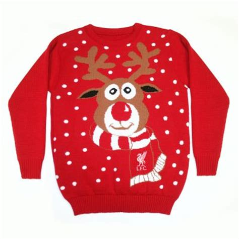 Jumper Liverpool By Azzurri 2 lfc mens rudolph jumper liverpool fc official