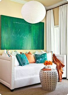 Decorating With Teal And Orange by Home Decor Teal Green Orange On Teal Green