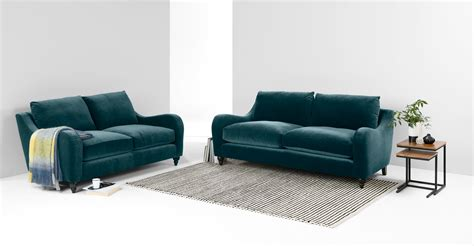 blue tufted sofa furniture trendy blue velvet design to inspired