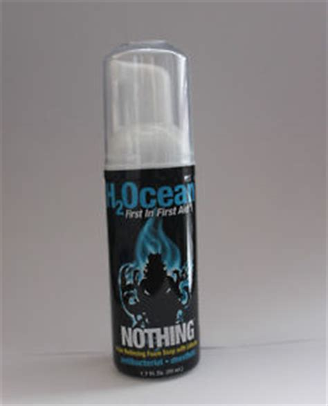 tattoo pain relief spray h2ocean nothing foam soap numbing lidocaine tattoo wash