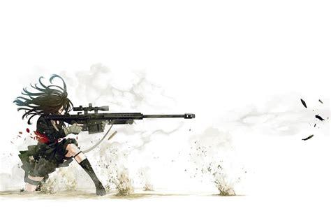 sexy girl sniper hd anime wallpapers  mobile  desktop