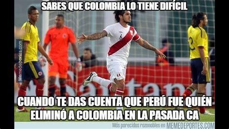 Memes De Peru Vs Colombia - per 250 vs colombia memes del partido de la copa am 233 rica