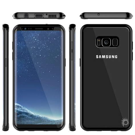 Samsung Hdc S8 Ultimate Black s8 punkcase cloak black series for samsung galaxy s8