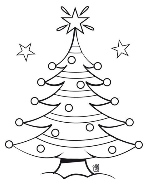 christmas tree star coloring page coloring book christmas tree coloring home