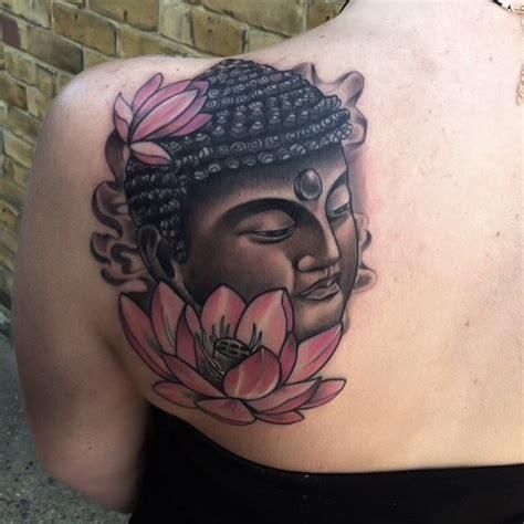 lotus tattoo shoulder blade great shoulder blade pictures tattooimages biz
