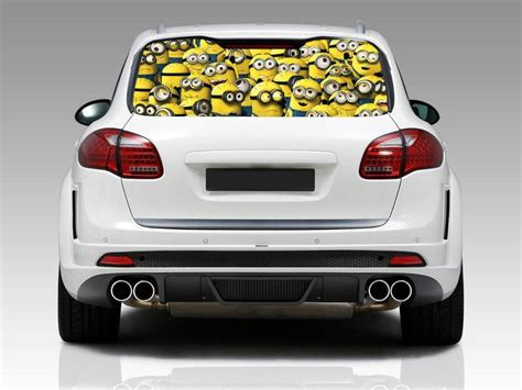 Minion Aufkleber Auto by Minion Car Window Decals Car Interior Design