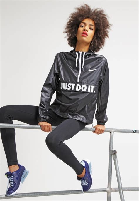 Jaket Nike Just Do It nike city packable hooded jacket with just do it at asos