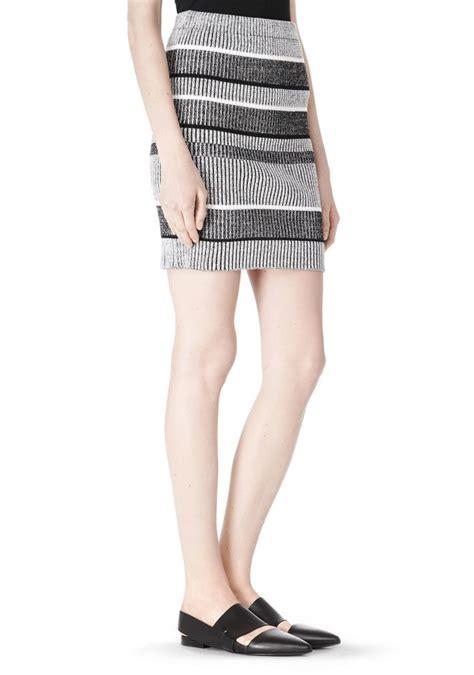 rib knit pencil skirt skirt wang official site