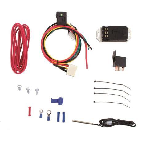 mishimoto adjustable fan controller kit fan switches evasive motorsports