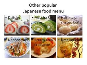 ranking of japanese foods