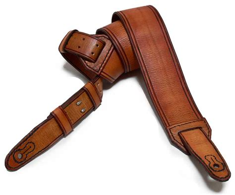 Handmade Leather Straps - budget handmade leather guitar