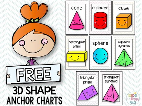 25 best ideas about 2d and 3d shapes on 2d shapes kindergarten kindergarten shapes school is a happy place you better shape up activities for 2d and 3d shapes including a free