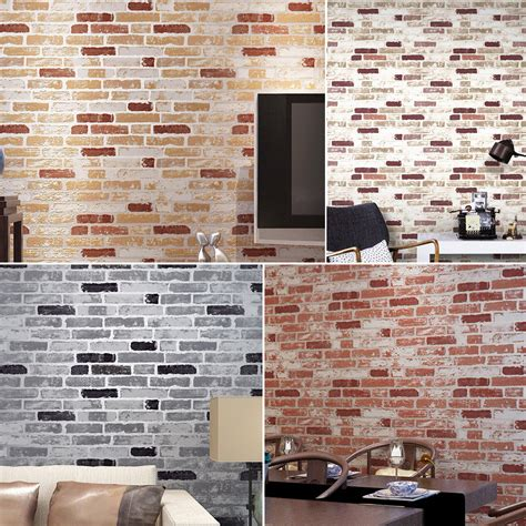 Stone Wall Living Room aliexpress com buy haok home pvc vinyl vintage faux