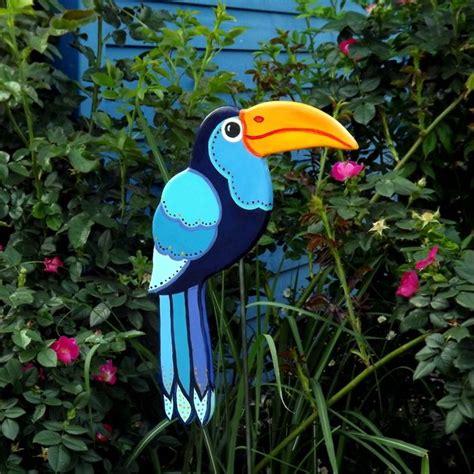 Gartendeko Blau by Gartenstecker Tukan Quot Azulito Quot Gartendeko Blau