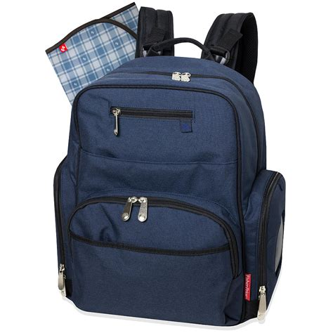 Baby Backpack fisher price blue denim deluxe backpack bag ideal