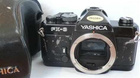 yashica slr yashica fx 3 slr 7 99